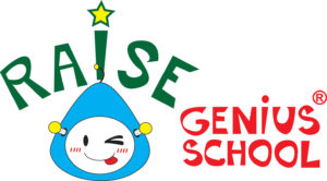 LOGO Raise Genius School small size