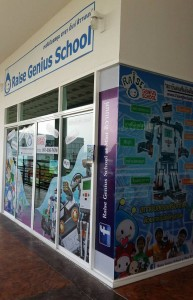 Raise Genius School Full Decorate franchise open mint village branch