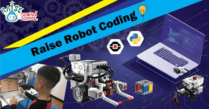 Raise Robot Coding for kids เปิดแล้วครับ สำหรับน้องๆ เด็ก อายุ 9 ขวบ ขึ้นไป เรียน เขียนโปรแกรม