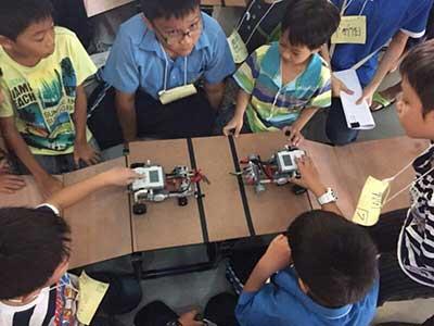 Raise Genius Lego kid museum robot camp 7