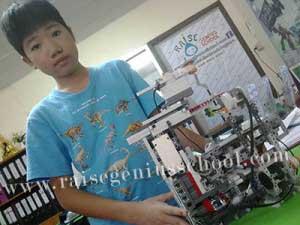 ต่อเลโก้ หุ่นยนต์ CNC 3 แกน
