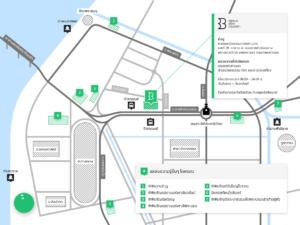 แผนที่หอสมุดเมือง