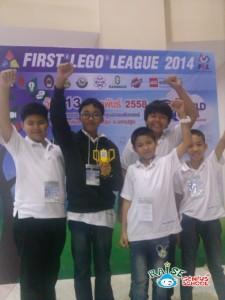 raise fll innovation award แข่งขันหุ่นยนต์