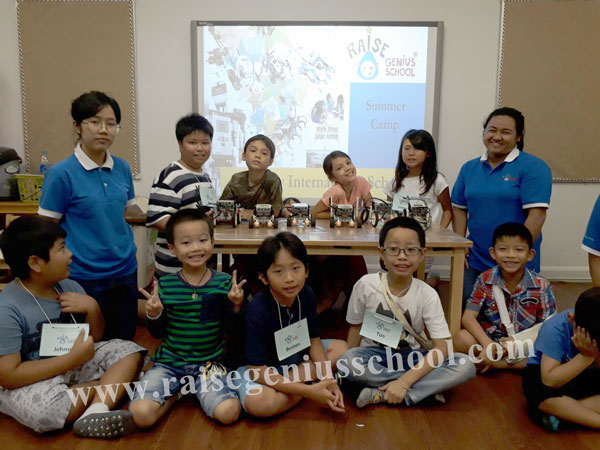 Berkeley International School Raise Robot Summer Camp 2017