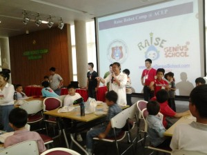 ค่ายหุ่นยนต์ Raise ACEP camp lego1
