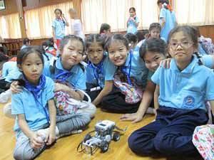 Raise robot camp
