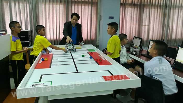 อบรมเตรียมแข่งขัน หุ่นยนต์ WRO 2018