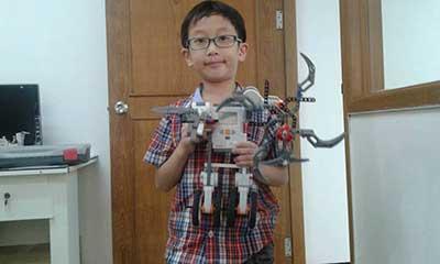 focus lego robot