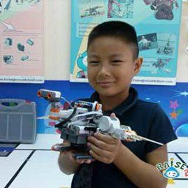 Tanut Lego Robot show