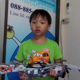 Tonkla Lego Robot Show