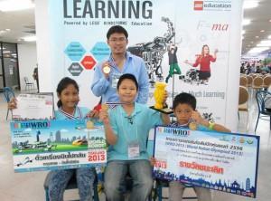 ที่1ประเทศไทย แข่งขันหุ่นยนต์ 5