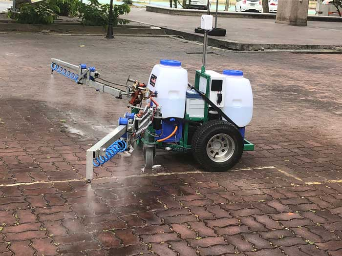 Covid_Spray_robot