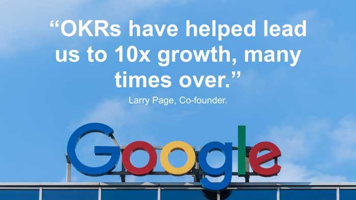 Google use OKRs แทน KPI