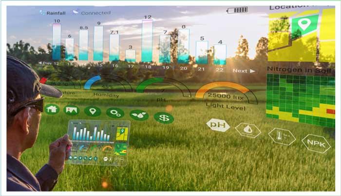 เกษตรกรสมัยใหม่ ใช้ IOT 5G AI ในการวางแผนการปลูก ควบคุมสภาพแวดล้อมการปลูกพืช